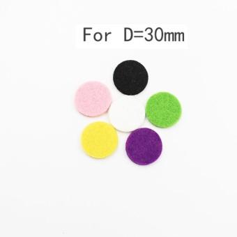 Car Perfume Supplemental Pad Essential Oil Diffuser Cotton Decorate Jewelry Mat - intl - 4