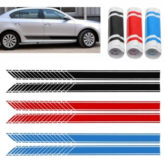 Car Racing Stripe Lower Door Panel Decals for LAVIDA Vinyl Side Sticker #513 - intl