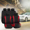 Car Seat Cover Universal Fit Car Styling Car Cover Seat Protector Red