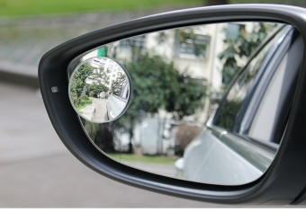 Car Styling Clear Car Rear View Mirror 360 Rotating Safety WideAngle Blind Spot Mirror Parking Round Convex Accessories - intl