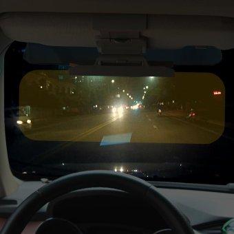 Car Sun Visor Goggles For Driver Day And Night Anti-dazzle MirrorAnti-Glare Goggle Sun Visors Automobile Sun-shading Block - intl - 2