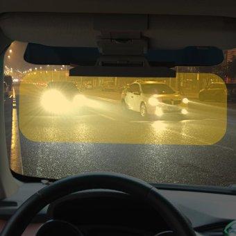 Car Sun Visor Goggles For Driver Day And Night Anti-dazzle MirrorAnti-Glare Goggle Sun Visors Automobile Sun-shading Block - intl - 3