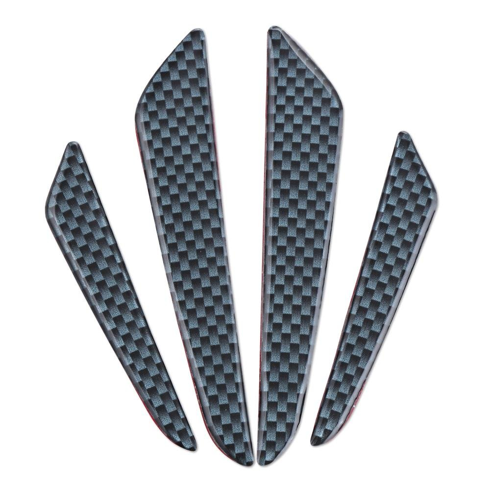 ... Carbon Fiber Car Side Door Edge Protection Guard Trim Sticker(Black) - intl ...