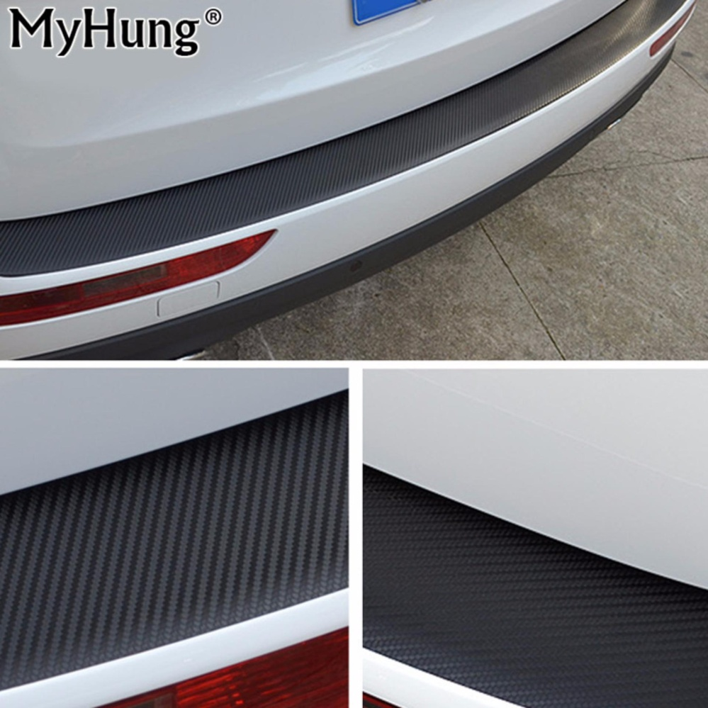 Kia Remote Covers Philippines Carbon Fiber Sticker Car Rear Bumper Scratch Resistant Scuffprotective Sill Pedals Cover For K2