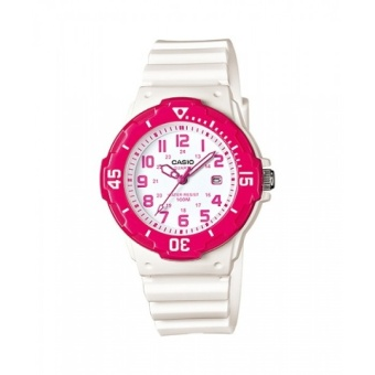 Casio Analog Women's White Resin Strap Watch LRW-200H-4B with 1 Year Warranty (T1Y)