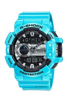 Casio G-Shock Men's Blue Resin Strap Watch GBA-400-2C