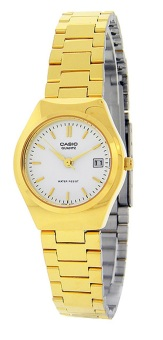 Casio Gold Stainless Steel Strap Women's Watch LTP-1170N-7ARDF