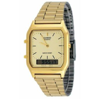 Casio Gold Vintage Stainless Steel Unisex Watch AQ-230GA-9DMQ