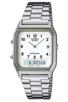 Casio Men's Silver Stainless Steel Strap Watch AQ-230A-7BMQ Price Philippines
