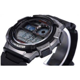 CASIO Men's Black Resin Strap Watch AE-1000W-1BVDF - picture 2
