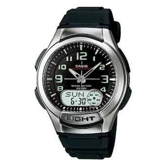 Casio Men's Black Rubber Strap Watch AQ-180W-1BVDF Price Philippines