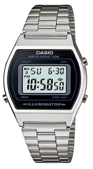 Casio Silver Stainless Steel Strap Unisex Watch B640Wd-1Avdf - picture 2