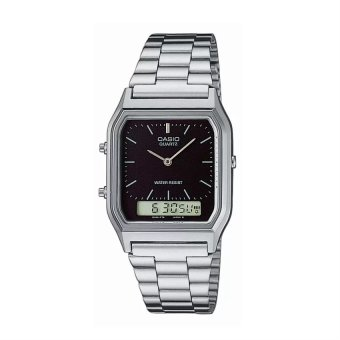 Casio Unisex Silver Stainless Steel Strap Watch AQ-230A-1DMQ Price Philippines