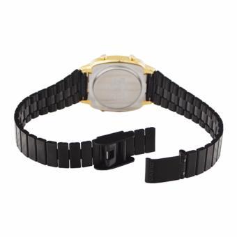 Casio Vintage Black Plated Stainless Steel Watch for Women- LA670WEGB-1B - 2