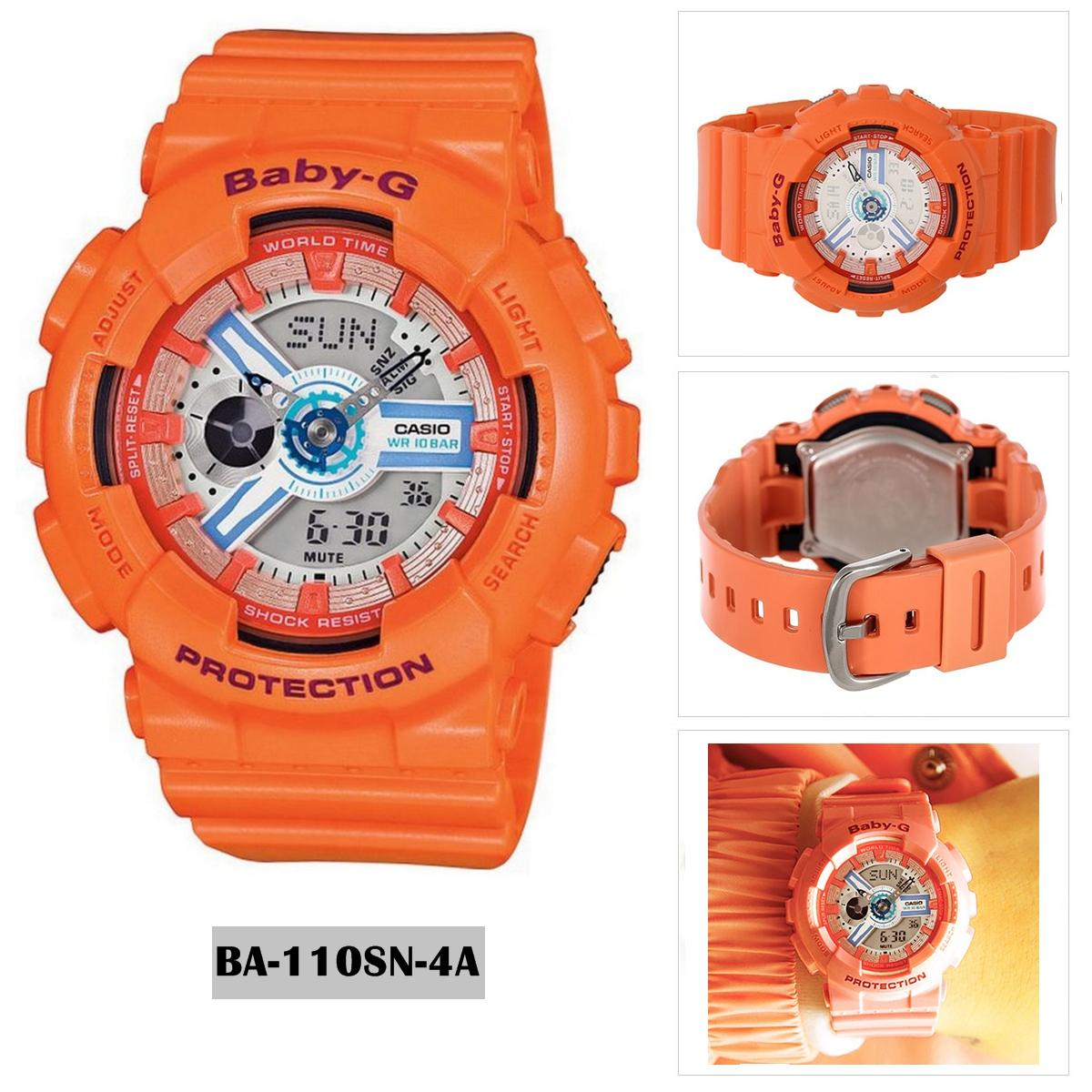 Philippines Casio Watch Baby G Orange Resin Case Strap Ldf 52 4a Original Pink Ladies Nwt Warranty Ba