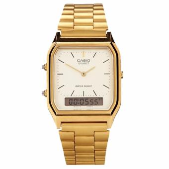 Casio Women's Gold Stainless Steel Strap Watch AQ-230GA-9DMQ Price Philippines