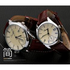 CE set of two new couples fashion watch belt fashion table men and women general table