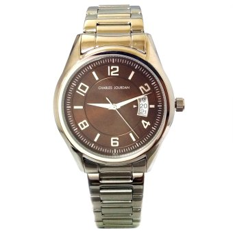Charles Jourdan Notion Silver Stainless Steel Strap Watch