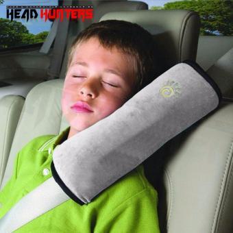 Child Kids Safety Car Seat Belt Pad Strap Harness Shoulder Sleep Pillow Cushion (Grey)