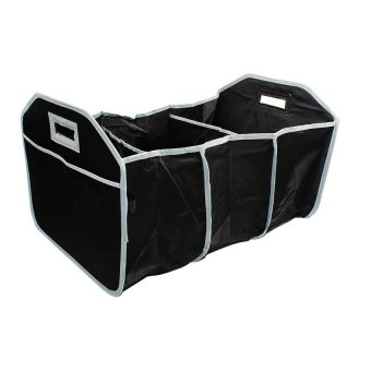 Collapsible EZ 3-Section Trunk Organizer (Black)