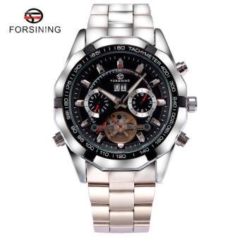 Cool Luxury Brand Forsining Wrist Watch Men Stainless Still Mechanical Watch Mens Dress Watch Gift for Male - intl - 2