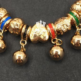 Crown Pandora Charm Bracelet (3colors) - 2