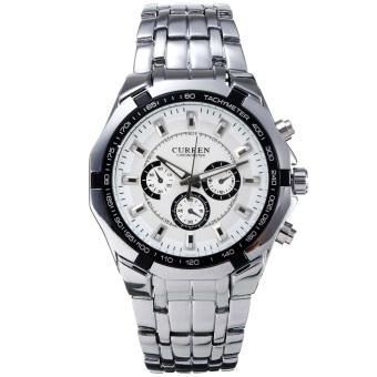 Curren 8084 Men's Stainless Steel Quartz Wrist Watch