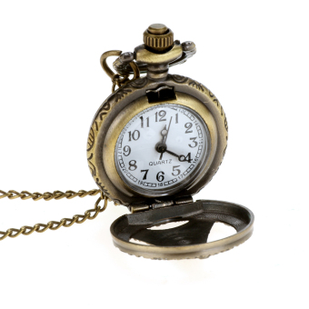 Cyber Retro Quartz Women Pocket Watch Chain Clock