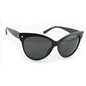Cyber Women Fashion Classic Shades Frame Sunglasses ( Black )