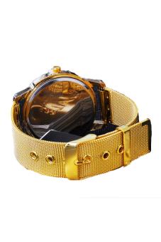 Cyber Women's Quartz Wrist Watch (Gold) - picture 2