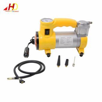 CYCLONE Heavy Duty Air Compressor w/ Working Light (Yellow) - 2