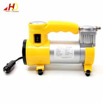 CYCLONE Heavy Duty Air Compressor w/ Working Light (Yellow) - 5