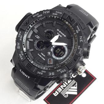 D-Ziner DZ-8146 Resin Strap Watch Sport Watch (BLACK/WHITE) Price Philippines
