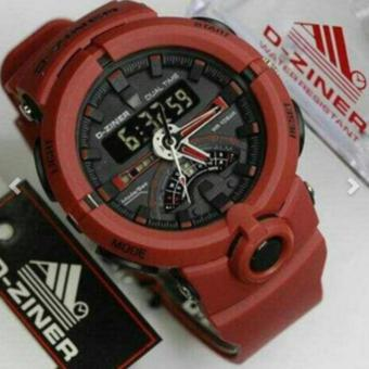 D-ZINER DZ-8174 Sporty Watch (RED) Price Philippines