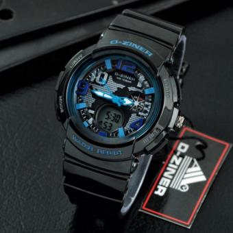 D-ZINER Lady Gaga Sporty Watch for Ladies (BLUE/BLACK) Price Philippines