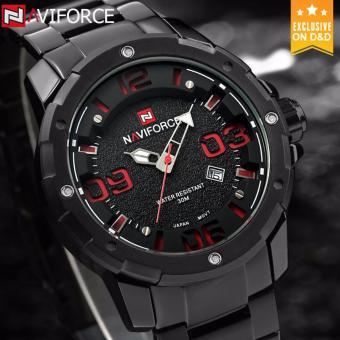 D&D NAVIFORCE NF9078 Business Men Quartz Watch - 2