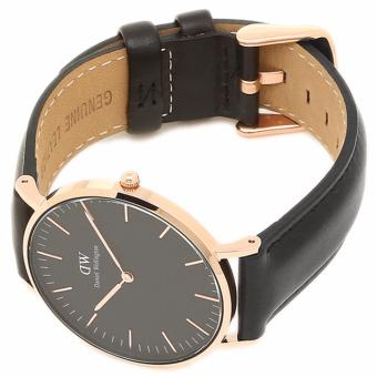DANIEL WELLINGTON CLASSIC BLACK LADIE'S WATCH | 36MM SHEFFIELD - 3
