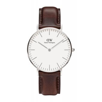 Daniel Wellington Classic Bristol 36mm Silver Watch