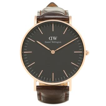 Daniel Wellington Unisex Classic Black York Watch 36mm Watch