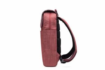 Delsey Calme 14-inch Laptop Backpack - Red - 4