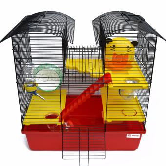 Deluxe Two Tower Hamster Cage (47 x 45 x 27.5cm) - 2