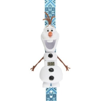 Disney Frozen Girls Blue Plastic Strap Watch FRRJ25-15