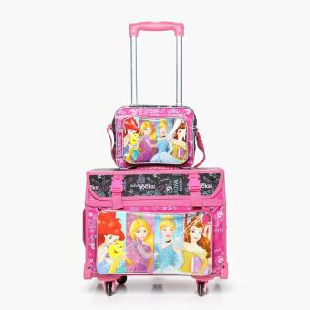 Disney Princess Girls Stroller with Lunch Bag