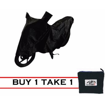DJ-SCORPIO Waterproof Motorcycle Cover (L-Black) BUY ONE TAKEON(*OFFER FOR LIMITED PERIOD RESERVED YOURS AND TAKE A GREATADVANTAGE OF NEW OFFER*)