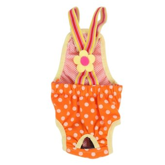 Philippines | Dog Diaper Suspender Underwear Reusable Washable Pants Orange XXS -intl Price Me