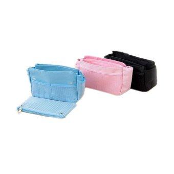 Dual Bag in Bag Organizer Set of 3 (Multi-colors)