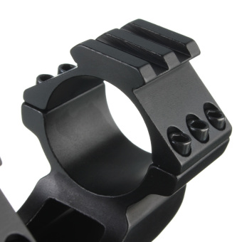 Dual Ring Cantilever Quick Release Scope Rail Mount Picatinny Weaver 30mm/25mm - 2