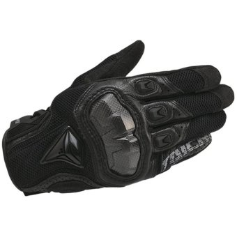 DualX RS Taichi RST391 Mens Perforated leather Motorcycle Mesh Gloves- M size - intl