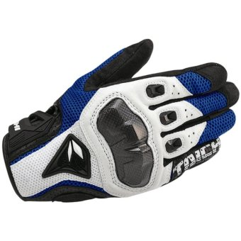 DualX RS Taichi RST391 Mens Perforated leather Motorcycle Mesh Gloves- XL size - intl