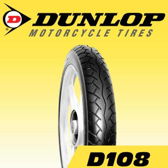 Dunlop Tire D108 2.75-18M 42P Tubetype Motorcycle Tires